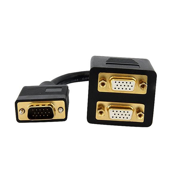 Startech duplicador VGA (de VGA a VGA doble) - Cable