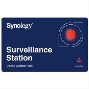 Synology Camera License Pack – Licencia Estándar 4 cámaras