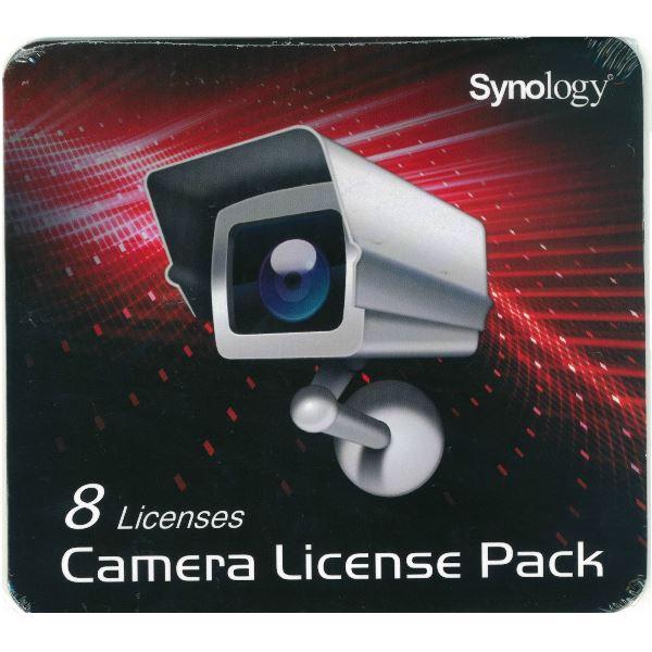 Synology Camera License Pack – Licencia Estándar 8 cámaras