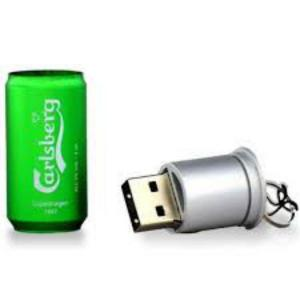 TECH1TECH Lata Cerveza 16GB USB2 – PenDrive