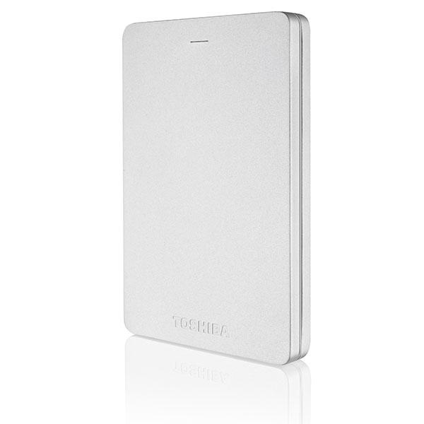 Toshiba Canvio Alu 2.5″ 500GB USB Plata – Disco Duro Externo