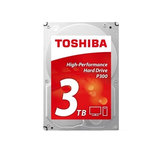 "Toshiba P300 High-Performance 3TB 3.5"" SATA - Disco Duro"