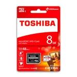 Toshiba Exceria 8GB 48MB/s c/adap – Tarjeta MicroSD