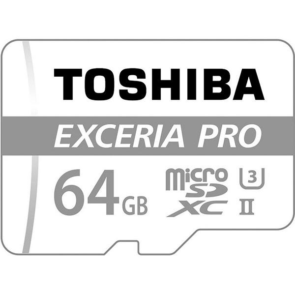 Toshiba Exceria Pro 64GB 95MB/s c/adap – Tarjeta MicroSD