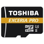 Toshiba Exceria Pro 64GB 270MB/s c/adap – Tarjeta MicroSD