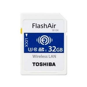 Toshiba FlashAir W-04 32GB 90MB/s WIFI – Tarjeta SD