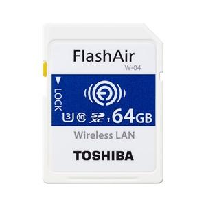 Toshiba FlashAir W-04 64GB 90MB/s WIFI – Tarjeta SD