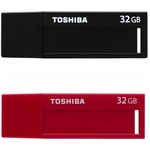 Toshiba TransMemory U302 USB 3.0 32GB Roja+Negro – PenDrive