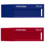 Toshiba TransMemory U302 USB 3.0 16GB Azul+Rojo – PenDrive