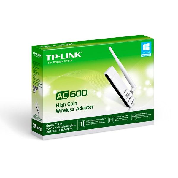 TP-LINK Archer T2UH - Adaptador USB WIFI