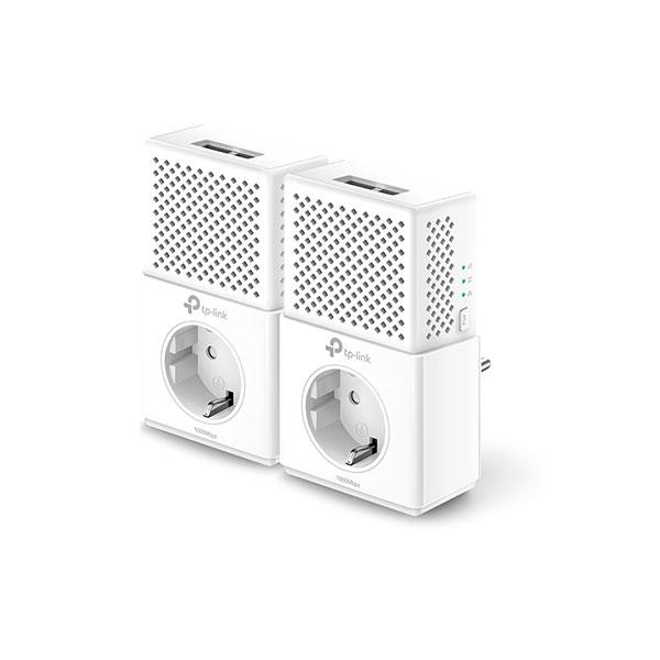 TP-LINK  TL-PA7020P KIT AV1000 con enchufe 2xLan - PLC