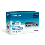 TP-Link SG108PE POE 55W Metálico Semigestionable - Switch