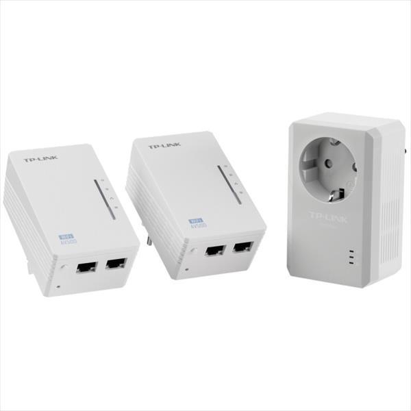 TP-LINK TL-WPA4226T KIT 3 PLC AV500 WIFI N – PLC