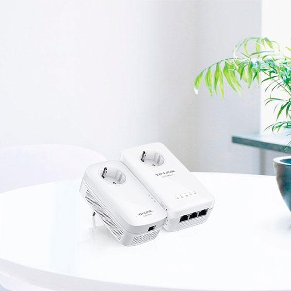 TP-LINK TL-WPA8630P KIT AV1300 LAN WIFI AC con enchufe - PLC