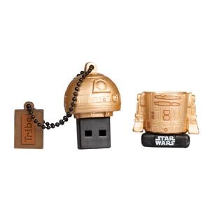 TRIBE 16GB R2D2 Gold USB 2.0 Star Wars TLJ – PenDrive