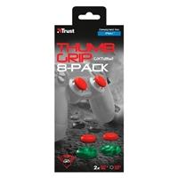 Trust Gaming Pack 8 Apoyos de pulgares para mando de PS4