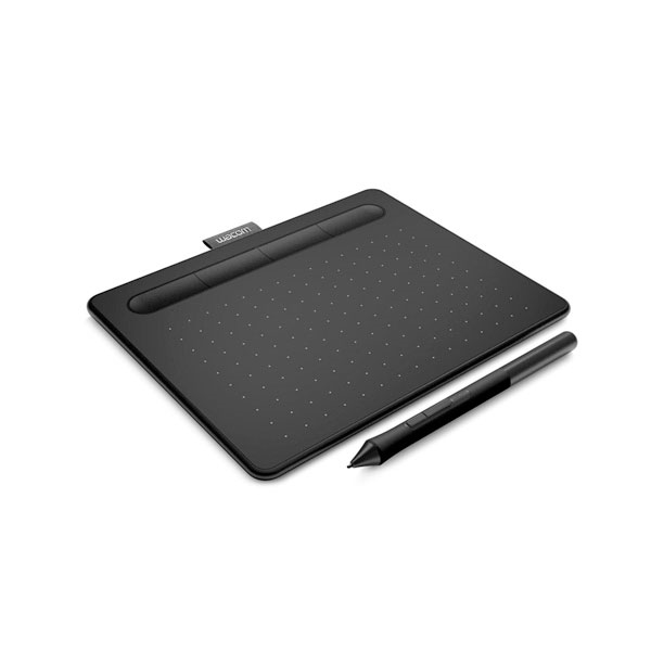 Educación Wacom Intuos Basic S Negra- Tableta digitalizadora