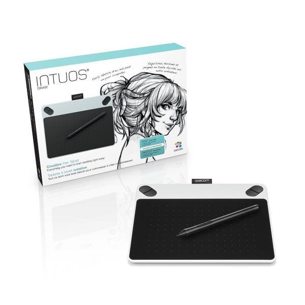 Wacom Intuos Draw blanca – Tableta Digitalizadora