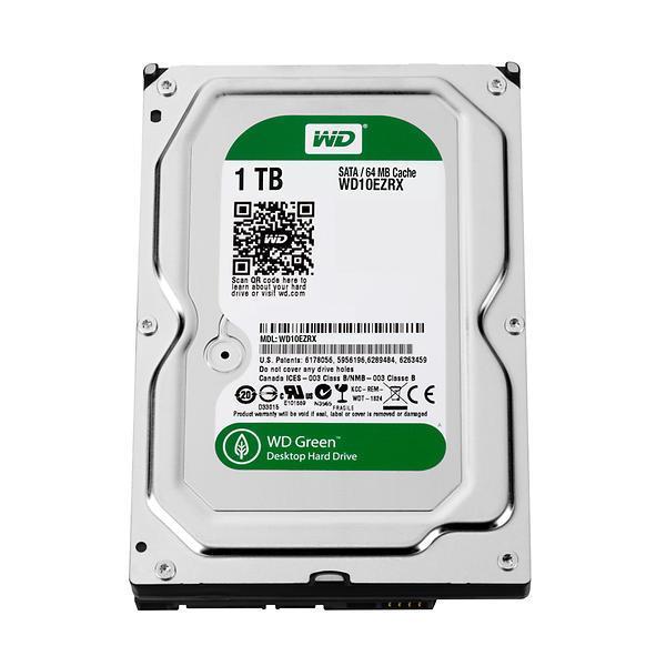 WD 3.5″ Green 1TB 64MB – Disco Duro