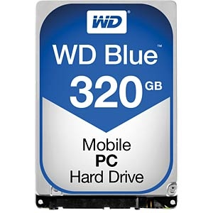 WD Blue 320GB 16MB 2.5″  – Disco Duro