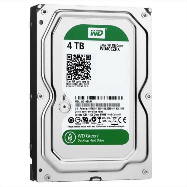 WD 3.5″ Green 4TB 64MB – Disco Duro