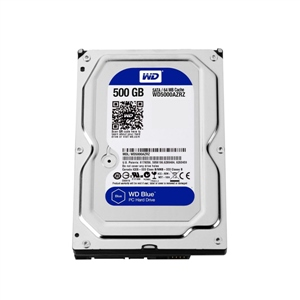 "WD Blue 500GB 3.5"" SATA - Disco Duro"