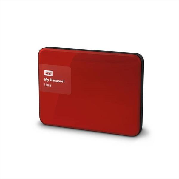 WD My Passport Ultra 4TB 2.5″ Rojo – Disco Duro Externo
