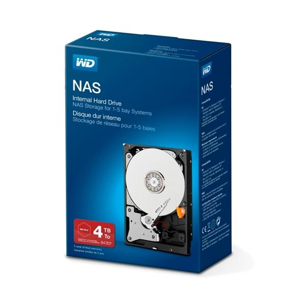 WD 3.5″ NAS 4TB 64MB – Disco Duro