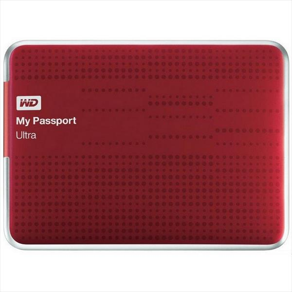 WD My Passport Ultra 2.5″ 2TB USB Rojo – Disco Duro Externo