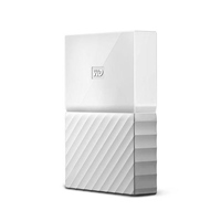 "WD My Passport 2TB 2.5"" Blanco - Disco Duro USB"
