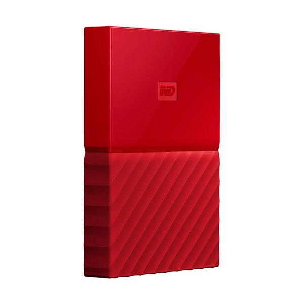 WD My Passport 2TB 2.5″ Rojo USB 3.0 – Disco Duro USB