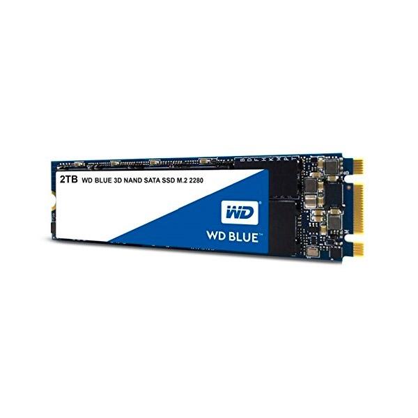 WD Blue 2TB M.2 2280 SATA 3DNand - Disco Duro SSD