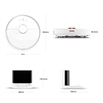 Xiaomi MI Vacumm Roborock 2 Blanco S502 - Robot Aspirador