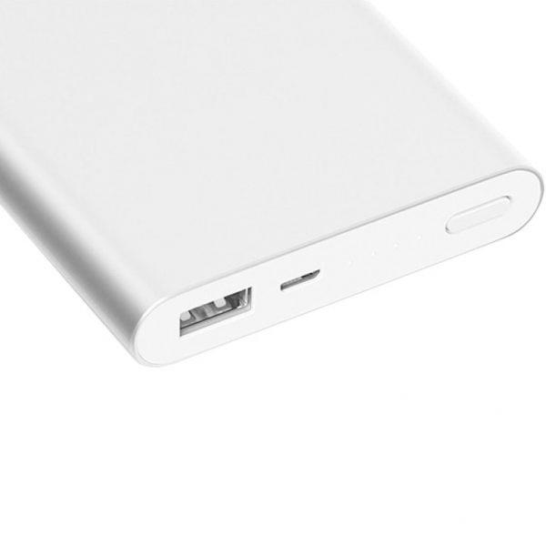 Xiaomi Powerbank 2 10000 Plata - Bateria Externa