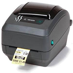 Zebra GK420t USB / Ethernet  – Impresora de etiquetas
