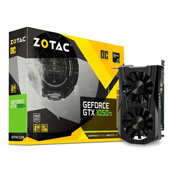 Zotac Nvidia GeForce GTX 1050 Ti OC – Gráfica
